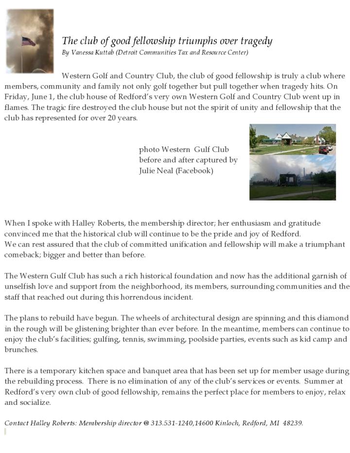zzz Western Golf art Good Fellowship